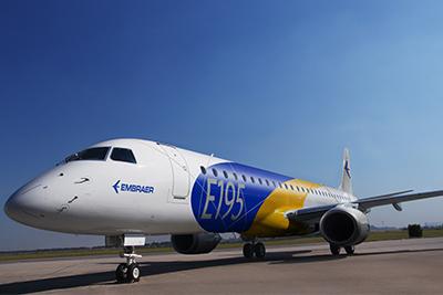E195 Embraer mat
