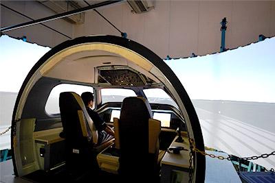 Simulador solo Embraer