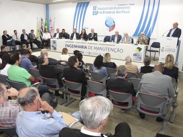 Lançamento do Cresce Brasil com foco na Engenharia de Manutenção