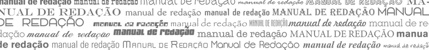 barra manual redacao