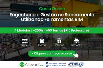ENGENHARIA E GESTÃO NO SANEAMENTO